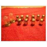 12 Sterling Silver Salt and Pepper Shakers