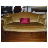 Camel Back Sofa, 80 inch Length