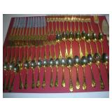 Holiday Flatware Set - 65 Pieces