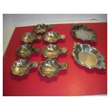 Small Silver Plate Trays