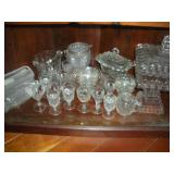 Assorted Glassware (Contents of Shelf)