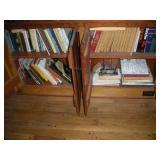 Books, 2 Shelves