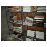 Books & Magazines - 8 Shelves