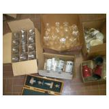 Assorted Glasses & Stemware