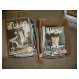 (2) Boxes Of Majesty Magazines