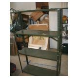 Metal Shelf  36x12x59 Inches