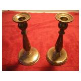 2 Sterling Silver Candlestick Holders, Prelude