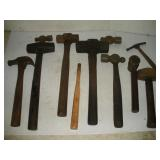 Assorted Hammers and Mallets