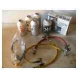 Refrigerant, R-12(1) and R-134A and Charging Kit