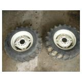 2 Gravely Rims and Tires, 23x6.50-12