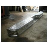 Rear Chrome Bumper, 76 inches
