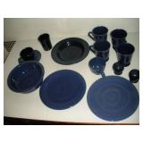 13 Pieces Blue Fiestaware