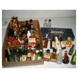 1 oz. Bottles Assorted Liquors