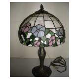 Stained Glass Lamp, 20 inches Tall