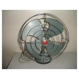 Vintage Metal GE Fan, 18 inches Tall