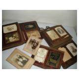 Antique Photo Albums w/ Tin Type photos