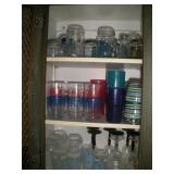 Contents of Cupboard, Glassware