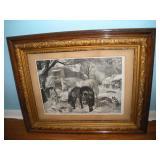 Framed Print, 42x36, Mackenzie Davis and Co.