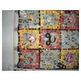 Mickey Mouse Wall Hanging and 300+ Pins, 32x32