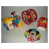 Vintage Mickey Mouse Toys