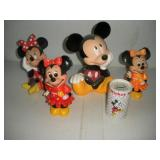 5 Disney Mickey and Minnie Banks