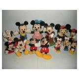 Disney Plush and Plastic