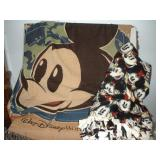Disney Woven Throw and Hand Knotted Blanket