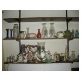 Decorative Items, Contents of 2 Shelves