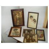 Vintage Framed Photos and Prints