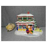 Garfield Christmas Village. The Toy Shop lighted