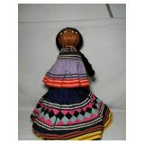 Native American Maiden doll. Hand made from horse