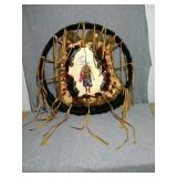 Native American wall decor. Hand Crafted 18""