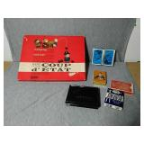 Vintage game and cards. 1966 Parker Brothers game