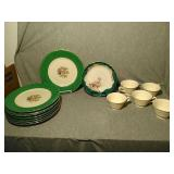 14 Assorted Dish ware. 8 Dinner plates  10.5""