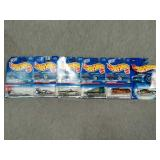 6 Assorted Hot Wheels cars. All New