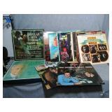 Assortment of vintage LP vinyl records