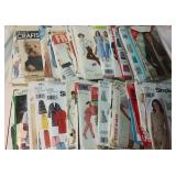 Cut Sewing Patterns Lot, pieces have not been