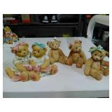 Cherished Teddies Collectibles. Set of 4