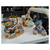 Cherished Teddies Collectibles. Set of 3