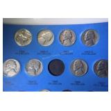 46 Jefferson Nickels in Book #2 1962 and up