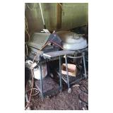 Two grills for one money location left rear