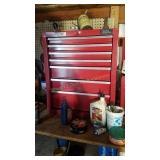7 drawer Master Mechanic tool storage unit
