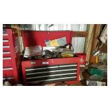 6 drawer Craftsman tool chest and contents
