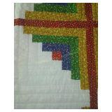 """92""""×90"""" hand pieced,hand stitched quilt"""