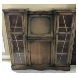 Antique Drop Front Secretary w/bookcases