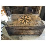 Antique Jewelry Box with Inlay