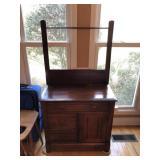 Antique Wash Stand - 3 Drawer/1 Door
