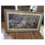 Large Still Life Print Framed