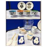 Vintage Plates/Cups & Pillsbury