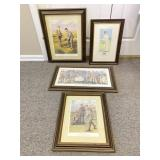 Golf Inspired Prints in Frames